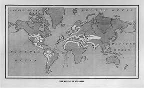 map of Atlantis 1882