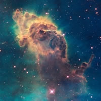 Pillar in the Carina Nebula - NASA photo