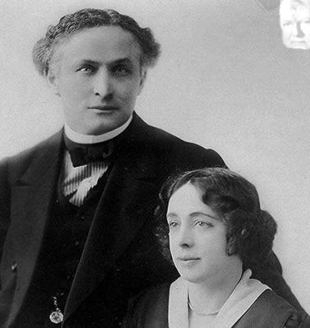 Houdini, wife, and uninvited guest